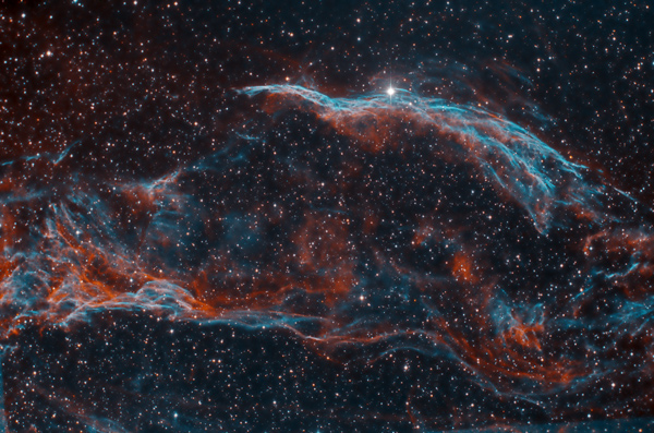 NGC 6960, witch's broom